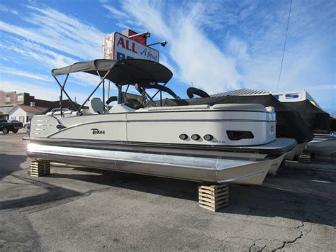 tahoe boats new new tahoe pontoon boats for sale boats