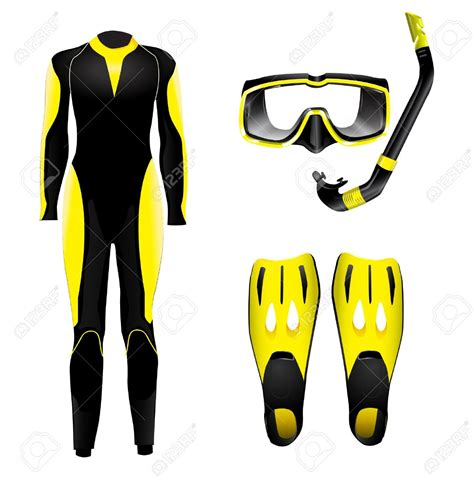 dive equipment diving equipment clipart clipground