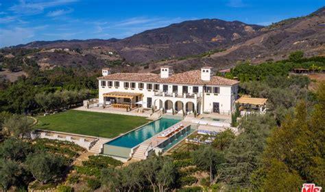 mansions in malibu la vie en a 27 million mediterranen mansion in