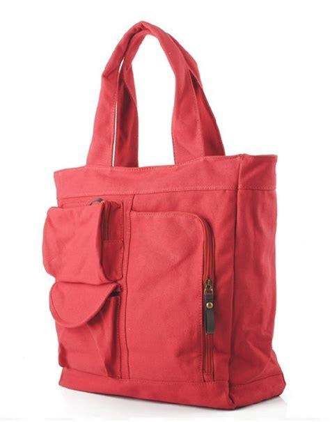 The Earth Tote Bag Kanvas Hitam zippered canvas bags fashion handbags