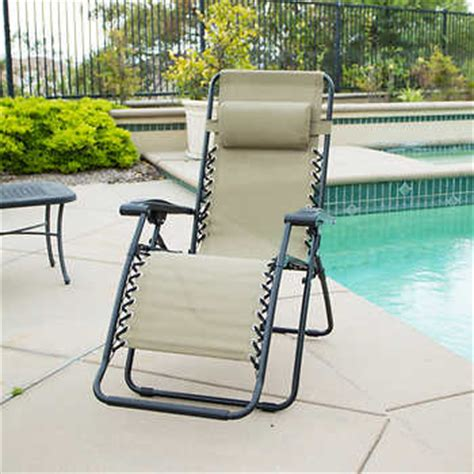 costco lounge chair outdoor zero gravity reclining outdoor lounge chair