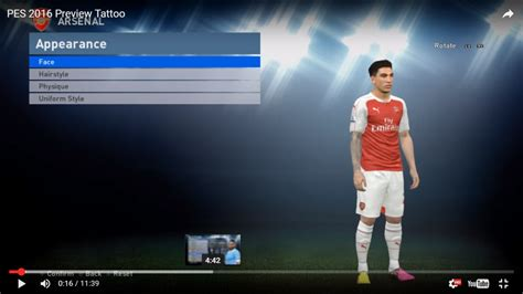 download messi tattoo pes 2016 tattoo pack reset for pte patch 5 1 pes 2016 308 tattoos