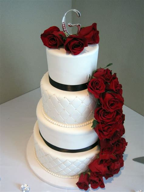 Pin Assembling Multi Tiered Cakes 10 Best Images About Wedding Cakes On Pinterest The Top Black And Pop Of Color