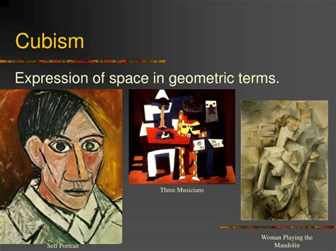 cubist space ppt pablo picasso powerpoint presentation id 4059997