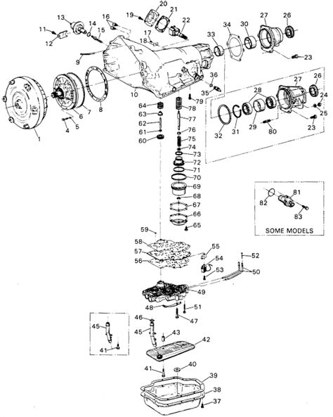 chevy turbo 350 transmission diagram th 700r4 basic information autos post