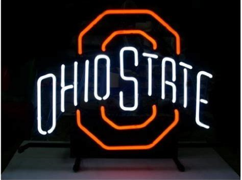 ohio state neon light ohio state buckeyes neon light price compare