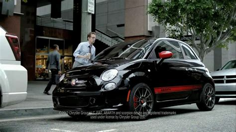 Catrinel Menghia Fiat by Fiat Abarth Tv Spot Featuring Catrinel