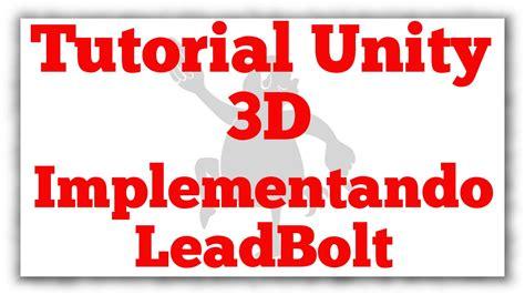 tutorial unity ads tutorial unity 3d implementando leadbolt interstitials en