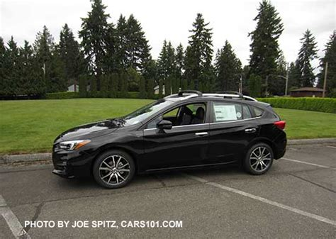 2017 subaru impreza hatchback black 2017 impreza subaru specs options prices dimensions