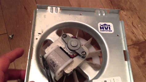 replacing or fixing a broan ec50ec70 bathroom exhaust fan