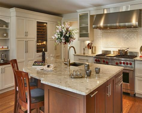 granite kitchen island ideas 30 bianco romano granite countertops modern kitchen designs