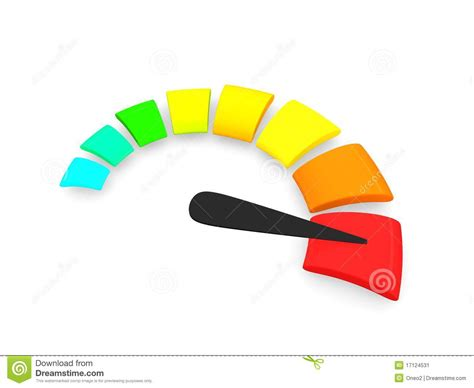 how to m speed o meter stock illustration image of path direction