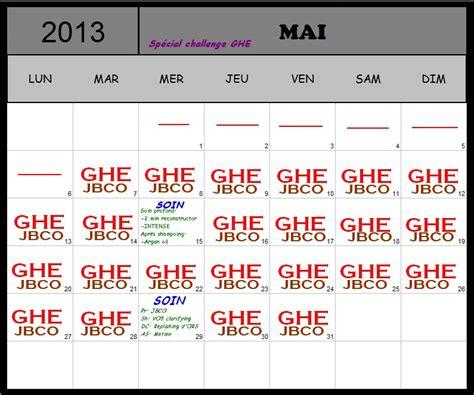 Calendrier 3 Fois Par Jour Cheveux Des 238 Les Routine Capillaire Mai 2013