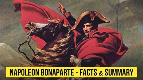 biography of napoleon bonaparte summary napoleon bonaparte facts