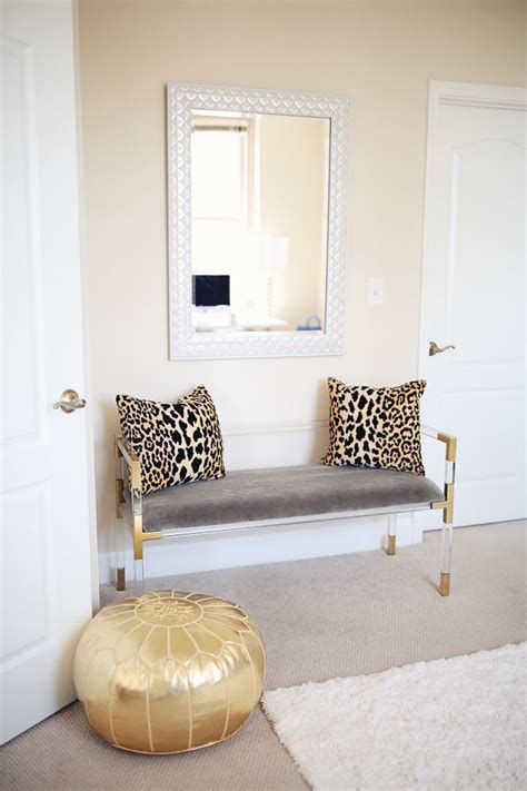 Moroccan Office Decor by 1000 Ideas About Gold Pouf On Moroccan Pouf