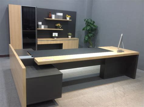 modern wood office desk mfc modern executive desk l shaped office desk table top