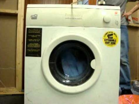 white cl637 intellidry tumble dryer