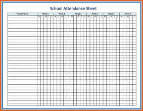Attendance Roster Template by Class Attendance Roster Template Pictures To Pin On