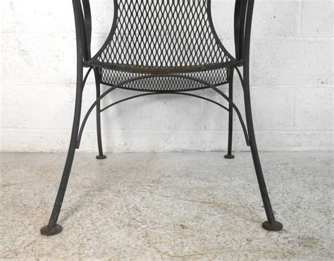 Unique Patio Chairs by Unique Woodard Style Patio Chair For Sale At 1stdibs