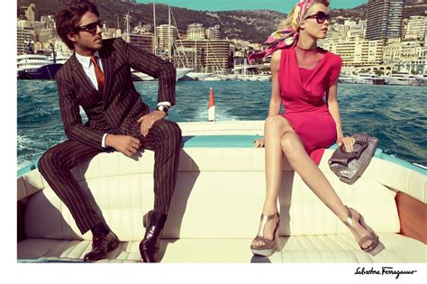 mens lifestyles news entertainment style women claudia schiffer for salvatore ferragamo spring summer
