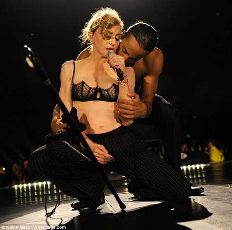 Madonna I Underpants Tonight On The Late Show With David Letterman Mound by Minogue Leads A List Front Row At Madonna S Hyde