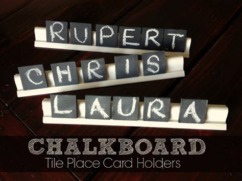diy chalkboard tiles pottery barn inspired slate tile placeholders tutorial