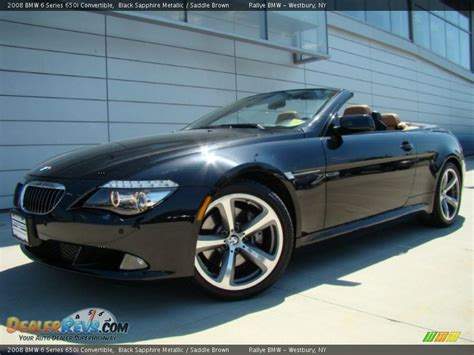 2008 bmw 650i 2008 bmw 6 series 650i convertible black sapphire metallic