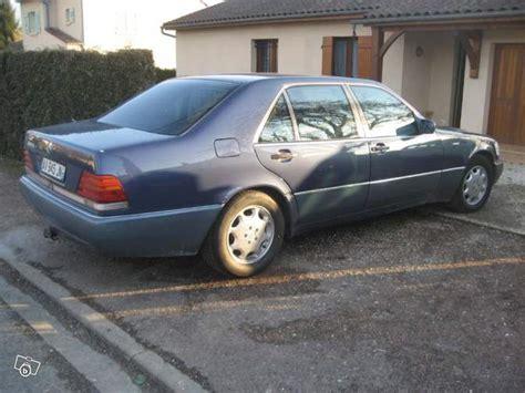 Autoscout Utilitaire by Les Mercedes Benz W140 Classe S D Occasion 224 Vendre Sur