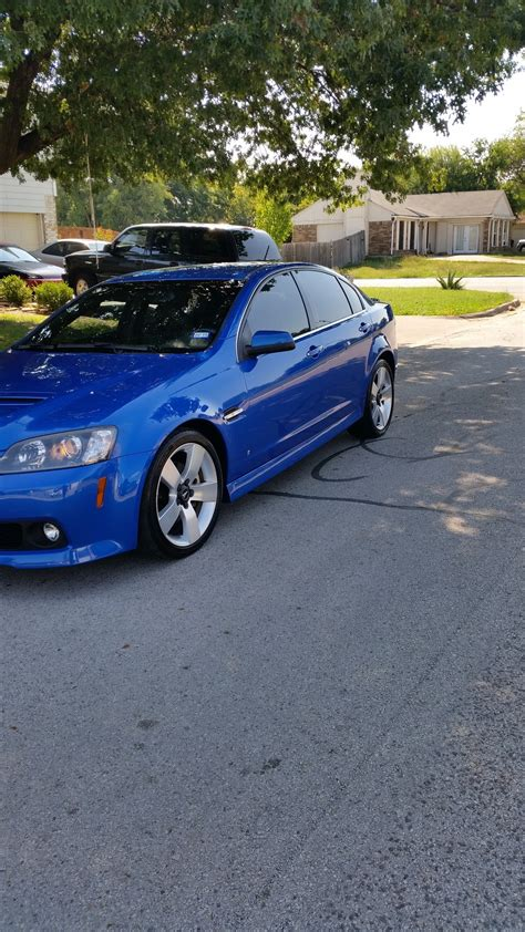 09 Pontiac G8 For Sale Pontiac G8 Gt 09 Blue Stryker Performancetrucks Net Forums