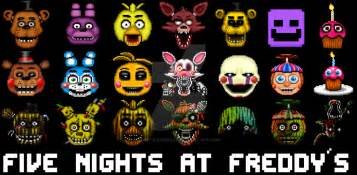 Five nights at freddys wallpaper icons by obitouchiha37 on