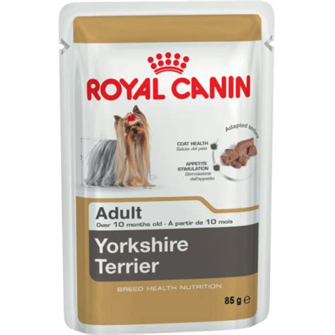 royal canin for yorkies royal canin terrier pouches food from 163 7 99 waitrose pet