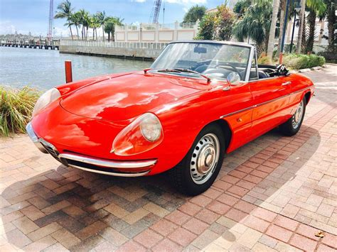 1967 Alfa Romeo Spider For Sale 1930485 Hemmings Motor