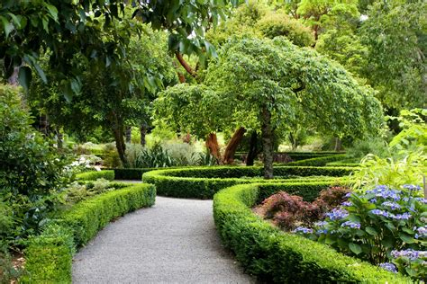 parks new zealand landscape christchurch shrubs design