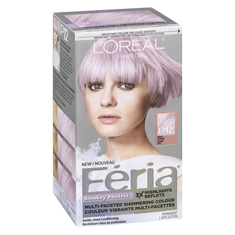 loreal pastel hair color l oreal feria smokey pastels permanent hair colour p12