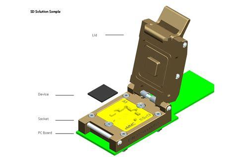 Plat Emmc Bga 5 In 1 china bga169 emmc socket sd solution 12x18mm manufacturer factory supplier 441