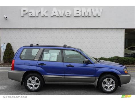 purple subaru forester 2004 pacifica blue pearl subaru forester 2 5 xs 25500854