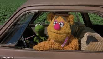 mirror movie clip fozzie bear kermit the frog george clooney hitches iconic movie rides in nespresso ad