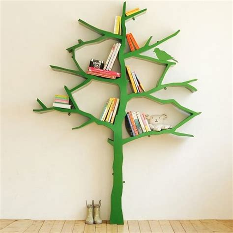 tree shaped bookshelf this is cool