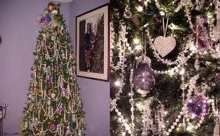 trick for making a fake christmas tree look fabulous how to fill out a white artificial christmas tree