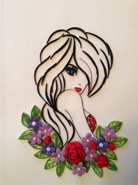 tutorial quilling art 513 best images about quilling people on pinterest