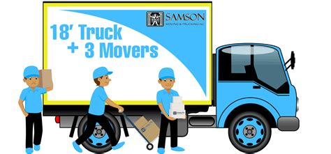 local house movers local moving in boston with samson lines moving company