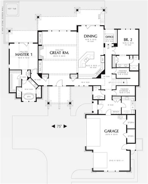 house plans with detached guest house home plans with detached guest house house design plans
