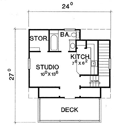 studio or guest quarters 3064d 2nd floor master suite