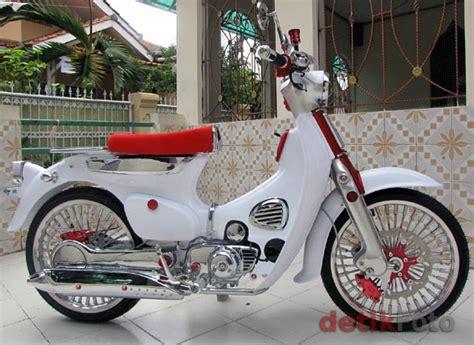C70 Modifikasi by Foto Foto Modifikasi Honda C70