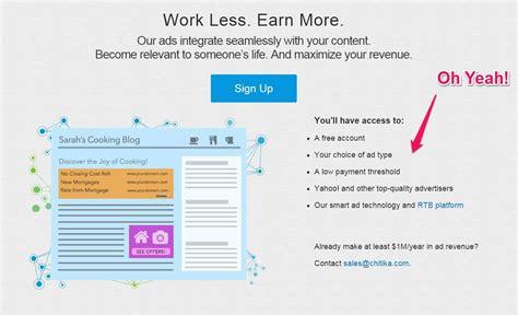 Make Money Online Using Chitika Ads - how to make money blogging on blast blog