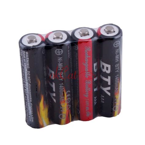 Baterai Aaa Ni Mh Battery 900 1 2v Trustfire wholesale ni mh aaa 1 2v rechargeable battery 820 900 1000 1300 1400 1500mah ebay