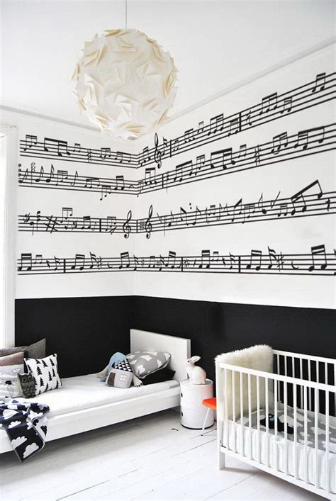 music note bedroom original interior musical design ideas small design ideas
