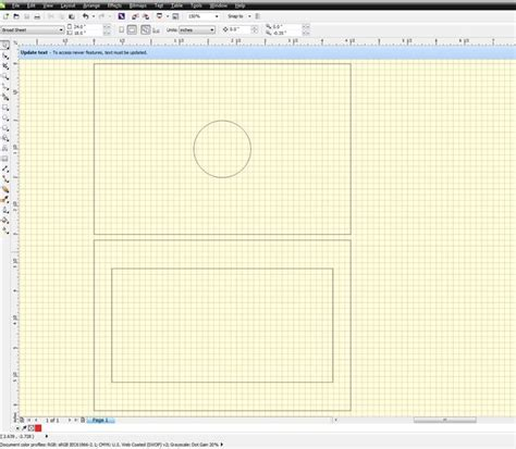 corel draw x5 layers how to make a jig for the epilog laser etcher cutter 1