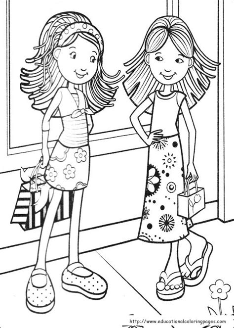 best color for girls groovy girls coloring pages free for kids