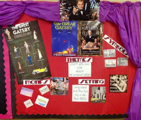 themes found in the great gatsby pin by jenifer johnson borden on classroom ideas pinterest